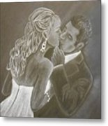 The Bride And Groom Metal Print