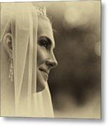 The Bride Example Metal Print
