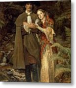 The Bride Of Lammermoor Metal Print