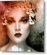 The Bride Metal Print