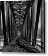 The Bridge At Mile 225 Metal Print