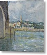 The Bridge At Saint Cloud Metal Print