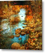The Bridge By Government Street Metal Print