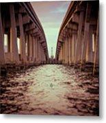 The Bridge II Metal Print