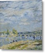 The Bridge Near Sevres Metal Print