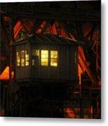The Bridge Tenders House Metal Print
