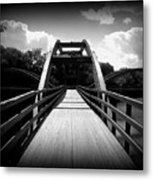 The Bridge Metal Print by Trina Prenzi