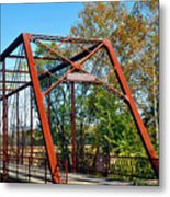 The Bridgetone Bridge Metal Print