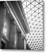 The British Museum Metal Print
