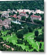The Broadmoor Resort Metal Print