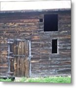 The Broadside Of A Barn Metal Print