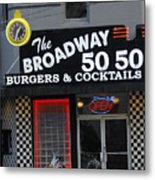The Broadway 50 50 Metal Print