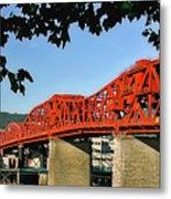 The Broadway Bridge Metal Print
