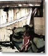 The Broken Home Metal Print
