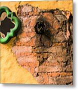 The Broken Wall Metal Print