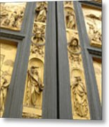 The Bronze Doors Metal Print