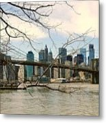 The Brooklyn Bridge  Metal Print