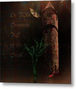 The Brown Tower Metal Print