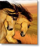 The Buckskins Metal Print