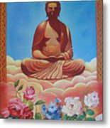 The Budha Metal Print