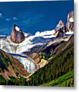 The Bugaboos Metal Print