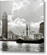 The Bund - Old Shanghai China - A Museum Of International Architecture Metal Print