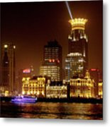 The Bund - Shanghai's Magnificent Historic Waterfront Metal Print by Christine Till