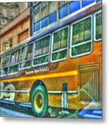 The Bus Metal Print