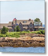 The Bush Family Compound On Walkers Point Metal Print