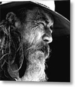 The Bushman Metal Print