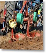The Business End Of A Tractor  Metal Print
