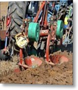The Business End Of A Tractor Two  Metal Print