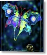 The Butterfly Mission Metal Print