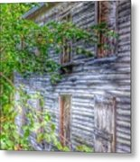 The Button House Metal Print