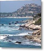 The Cabo Coast Metal Print