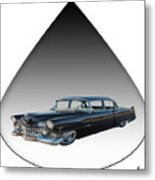 The Caddy Metal Print