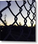 The Caged Morning  Metal Print
