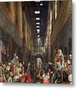 The Cairo Bazaar Metal Print