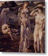 The Calling Of Perseus 1898 Metal Print