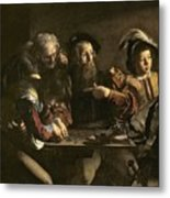 The Calling Of St. Matthew Metal Print