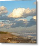 The Calm After Metal Print