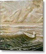 The Calm After The Storm Metal Print