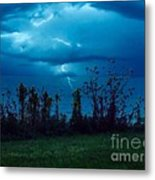 The Calm Before The Storm. Metal Print