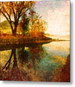The Calm By The Creek Metal Print
