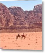 The Camel Riders Metal Print