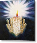 The Candle Of The Lord Metal Print