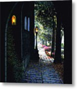 The Candle Metal Print