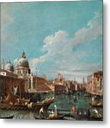 The Cannament Of The Great Canal Metal Print