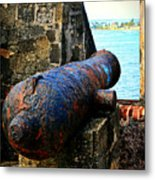 The Cannon  Metal Print