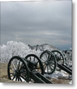 The Cannons At Shipka Metal Print